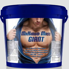 2270g MAXIMUM MASS GIANT - Eiweiß + Weight Gainer Whey Protein Isolat WPC Egg