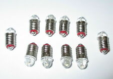 LED Spare Bulbs for Model Houses E5.5 16-24V - 10 x *New*