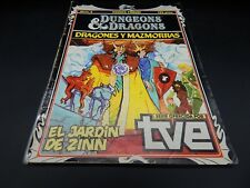 vintage Dungeons & Dragons cartoon series comic book #6 Spain 1985 Comics Forum