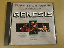 CD / GENESIS - TURN IT ON AGAIN - BEST OF  '81- '83