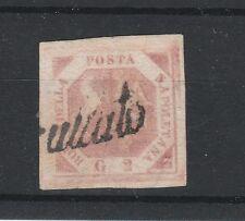 FRANCOBOLLI 1858 NAPOLI 2 GR. ROSA CHIARO D/4511