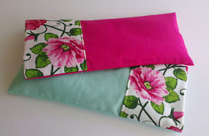 SET OF 2 Aromatherapy yoga eye pillows with lavender