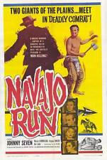 NAVAJO RUN Movie POSTER 27x40 Johnny Seven Warren J. Kemmerling Virginia Vincent