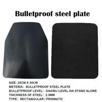 IIIA Steel Plate Safe Gear Armor Military Police Stands Alone Bulletproof Panel