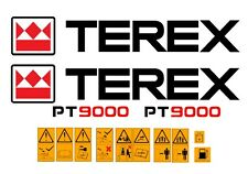 Terex PT9000 con Cassone Ribaltabile Decalcomanie