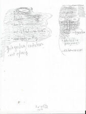 Dave Cooper Original Comic Book Art Sketch Ideas and Doodles for Future Projects
