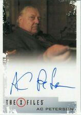 X Files: Seasons 10 & 11 Autograph Card! A. C. Peterson as Mr. Y