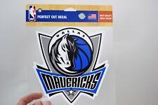 WINCRAFT NBA NEW! DALLAS MAVERICKS 8x8 Perfect Cut Decal   (UB)
