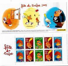 Bande Carnet BC3751a Fete du timbre Titeuf Zep 2005 Neuf non pliée