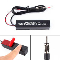 12V Car Stereo Radio Electronic Hidden Antenna Aerial FM/AM Amplified Universal