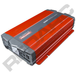NEW Redarc 2000W 12V Pure Sine Wave Inverter R-12-2000RS2