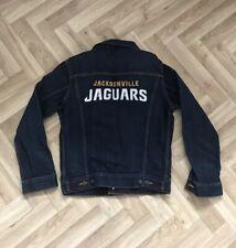 Rare Genuine NFL Jacksonville Jaguars Levis Denim Jacket XS Mens
