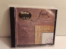 Behr Premium Plus with Style: Faux Finishing Techniques (2 CD-Roms, 2003)