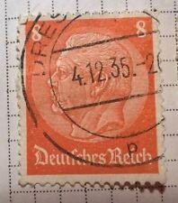 Germany Reich stamps - Paul von Hindenburg 8 pfg - FREE P & P