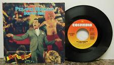 Pee - Wee Herman: Surfin' Bird / Surf Punks My Beach, w/ PS, 45 RPM. VG+