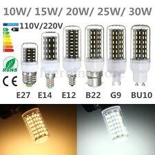 E14 E27 E12 B22 G9 GU10 4014 SMD 36/56/72/96/138 LED Cover Maíz Bombilla luz