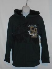 Canyon River Blues Boys Sherpa Lined Hoodie Dark Earth Green S/8 NWT