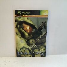 Halo 2 Original Xbox MANUAL ONLY Authentic
