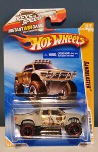 Hot Wheels 2010 New Models Sandblaster #27 Of 44 Tan Camouflage Malaysia