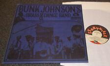 BUNK JOHNSON'S-BRASS & DANCE BAND-STORYVILLE 1967 VINYL LP-GEORGE LEWIS (EX+/M-)