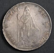 1832, Peru (Republic). Beautiful Large Silver 8 Reales Coin. XF-AU!