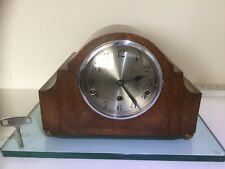 Rare Norland Triple Chime 8 Day Mantel Clock Fully Serviced And Re-bushed
