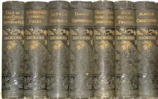 Works of CHARLES DICKENS! VICTORIAN BINDINGS!not leather COMPLETE SET/RARE! gift