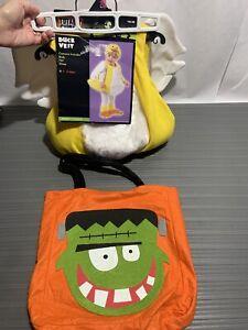 Totally Ghoul Pumpkin Vest Toddler Halloween Costume