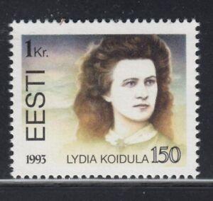 ESTONIA Lydia Koidula, Poet MNH stamp