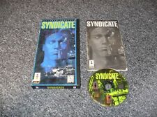 GENUINE 3DO GAME - PANASONIC - SYNDICATE - LONG BOX - COMPLETE - TESTED