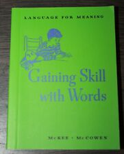 """American Girl MOLLY """"GAINING SKILL WITH WORDS"""" BOOK from School Bag & Supplies B"""