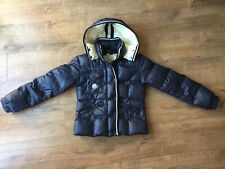 Moncler Style Navy Down Padded Ladies Hooded Jacket - Winter / Skiing - Size 2