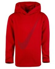 Nike Little Boys Dri-FIT Swoosh Graphic-Print Hoodie - Size 4 - NWT - MSRP$28.00