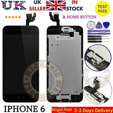 Replacement For iPhone 6 4.7'' LCD Touch Screen Digitizer Camera Home Button UK
