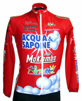 Cycling Jersey Long Sleeve for Acqua & Sapone Cycling Team Made by GSG