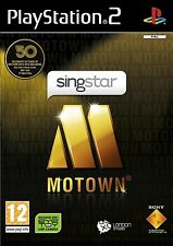 SINGSTAR MOTOWN  playstation 2 PS2   NUOVO!!!