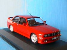 BMW M3 1988 E30 ROUGE IXO ALTAYA 1/43 RED ROSSO GERMANY ROT SERIE M