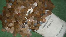 2 rolls / WHEAT PENNY'S! Possibly 1909 TO 1958 D! A Nice Mix Of Teens to 58....