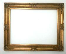 Cornice Classica in Legno - Interno 90x120 cm - Quadro Rettangolare Oro Anticato