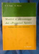 Costa - Motivi e personaggi dei Promessi sposi - 9788800411332