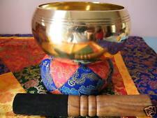 TIBETAN SINGING BOWL ~   G CHAKRA  HEALING ~ 5.3 INCHES