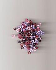 "1/8"" REDS / PINKS / PURPLES ROUND EYELETS ** 105 PCS **"