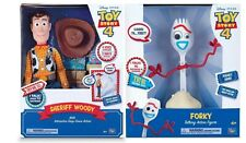 Toy Story 4 Feature Talking Sheriff Woody 16 Inch From Mr Toys