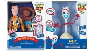 Toy Story 4 Sheriff Woody + Toy Story 4 Forky