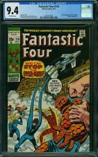 Fantastic Four 114 CGC 9.4 -- 1971 -- 1st full app The OverMind #2001977007