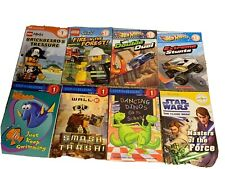 Lot Of 18 Beginning To Read Books Pre-level 1 And 1, Star Wars, Lego, Disney