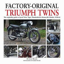 Factory-original Triumph Twins: Speed Twin, Tiger, Thunderbird & Bonneville Mode