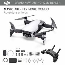 DJI Mavic Air - Arctic White Drone - Fly More COMBO - 4K Camera