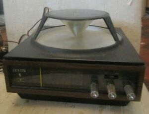 Vintage1970s Mid Century Omnidirectional Cone Zenith Circle Of Sound Model A424W