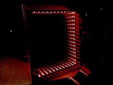 """LED RGB 3D illuminato Infinity illusione Fatto a Mano Specchio 21"""" 17"""" RETE ELETTRICA"""